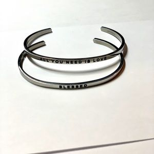 Two pack MantraBands